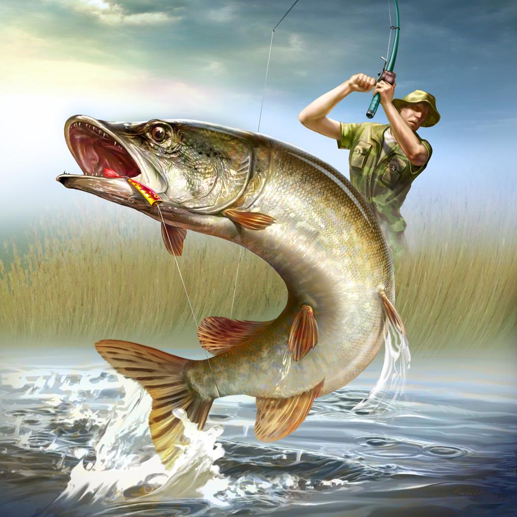 рыболов ловить